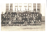école privée - photo de classe M. CHESNAY1947-1948